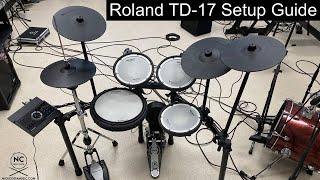 Roland TD-17KVX Setup Guide