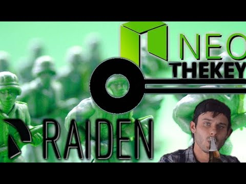 Crypto and A Cold One | Raiden Network and THEKEY on NEO | Massive Gains Here!