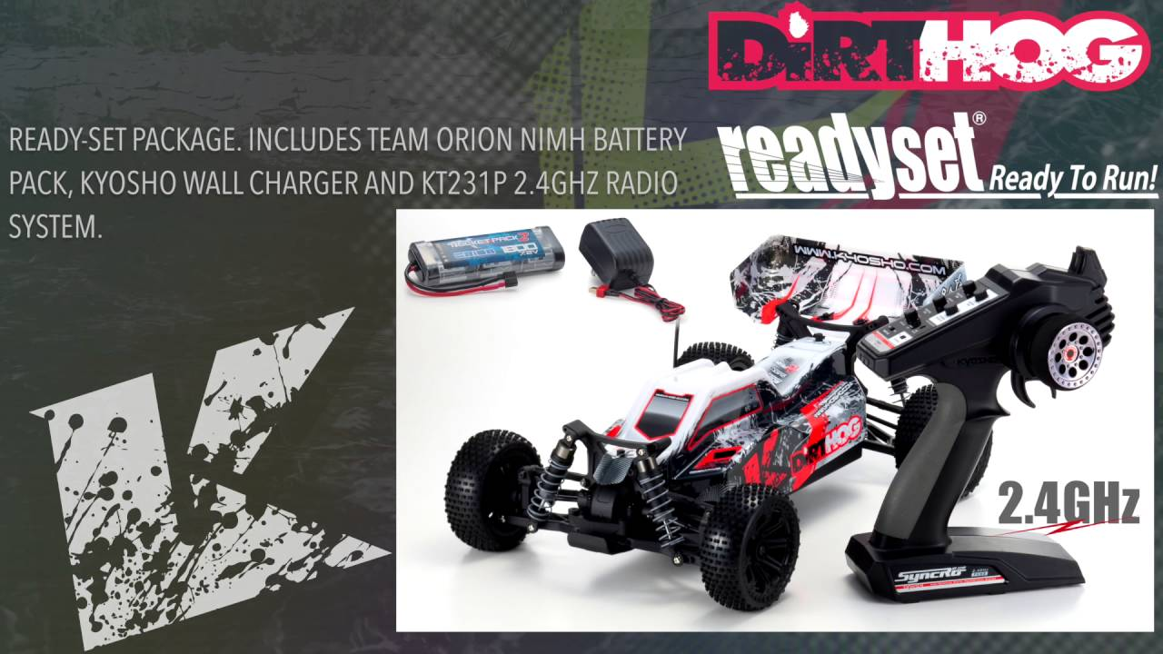 KYOSHO Dirt Hog 2016 | Off-road buggy action