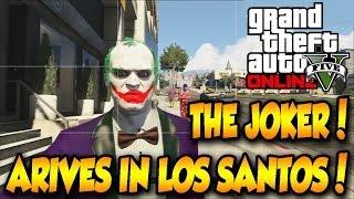 GTA 5 THE JOKER IN LOS SANTOS MOD!! DOWNLOAD FOR PS3/XBOX360!