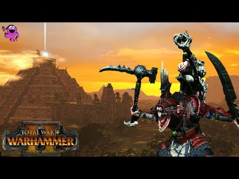 Total War Warhammer 2 - Skaven vs. Lizardmen Multiplayer Battle Gameplay Analysis