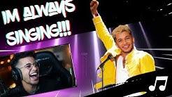 I'M ALWAYS SINGING ON STREAM!! - Jordan Fisher Sings #1