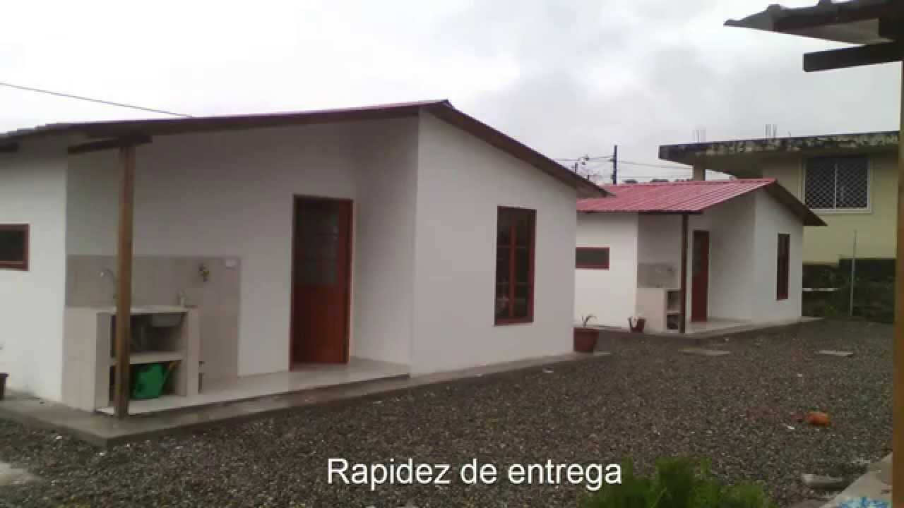 Casas prefabricadas en concreto youtube for Casas de cemento