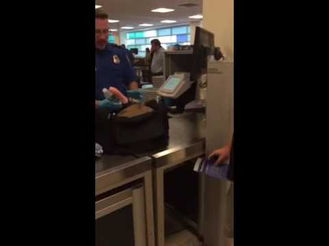 Bachelor's Airport Security Surprise