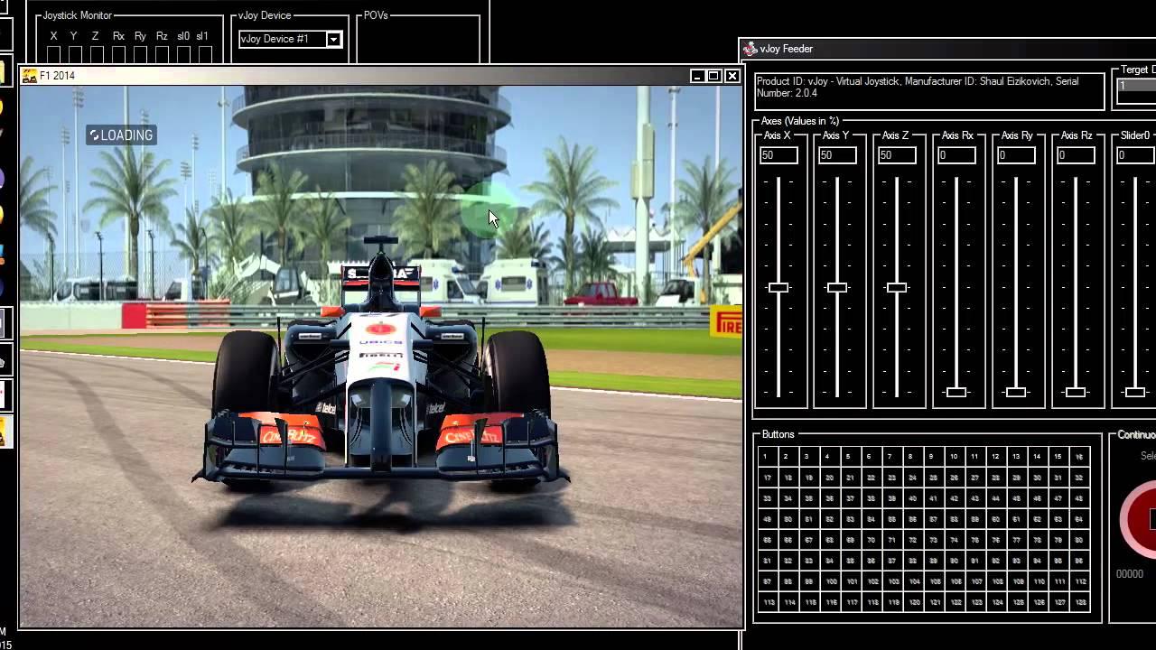 Mouse Steering Tutorial (FreePIE + vJoy)