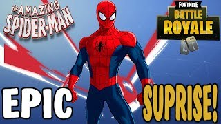 Epics New Fortnite Skin! Rare Spiderman Skin Coming To Fortnite?