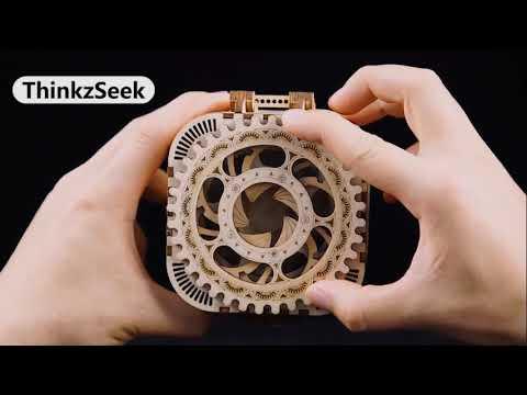 Mechanical DIY Treasure Box