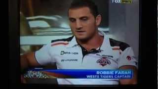 "Robbie Farah Fired Up on NRL on FOX as Matt Johns Asks ""The Tough Questions"""