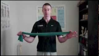 Upper Body Postural Exercises