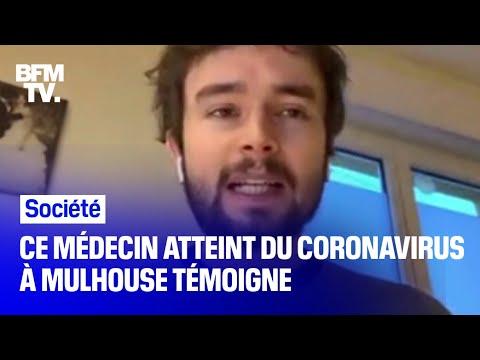 Coronavirus: un médecin contaminé témoigne