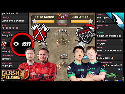 Unbelievable What Happened! The Final War! Top 2 Clans Battle | Clash Of Clans