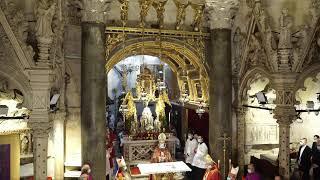 Devetnica sv.Dujmu - Svečana večernja i otvaranje moćnika iz katedrale sv. Dujma - Split 06.05.2021.