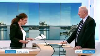 Interview de l'Inspecteur d'Académie de Nice le 15 février 2018