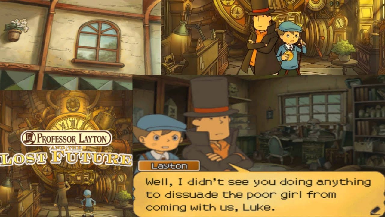 Professor Layton And The Lost Future Walkthrough Part 15 Youtube