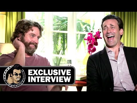 Zach Galifianakis & Jon Hamm Interview - KEEPING UP WITH THE JONESES (Exclusive) JoBlo.com