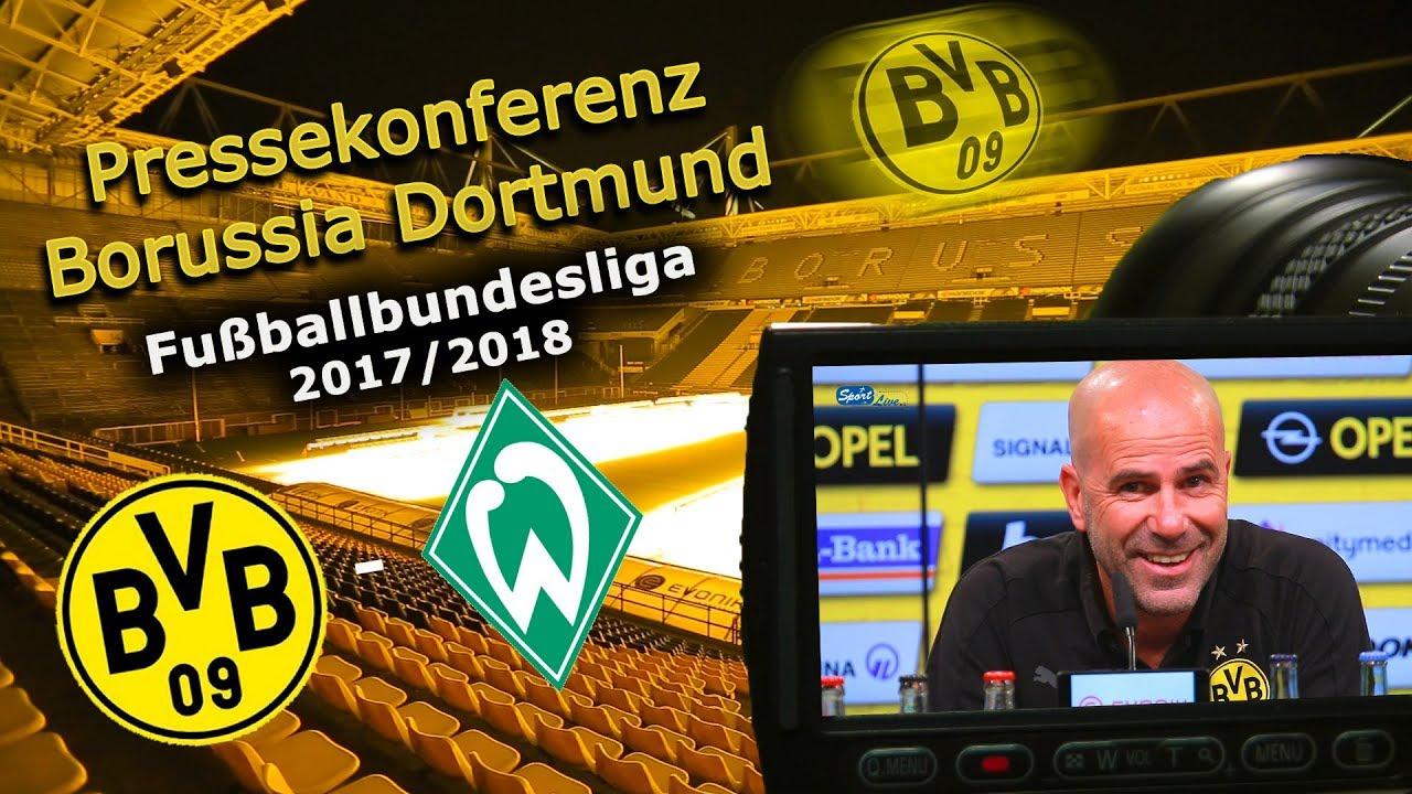 Borussia Dortmund - SV Werder Bremen: Pk mit Peter Bosz