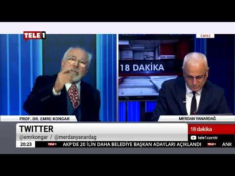 18 Dakika - (27 Kasım 2018) Merdan Yanardağ & Prof. Dr. Emre Kongar | Tele1 TV