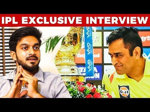 Dhoni's Actions SHOCKED ME! - Vijay Shankar | CSK IPL Finals 2018