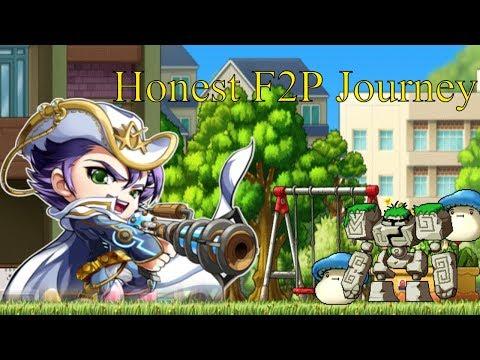 Maplestory - Honest F2P Journey! OfficialShip Jett New Series! [Ep.01]