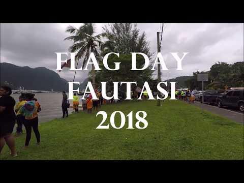 American Samoa Flag Day Fautasi 2018