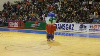 extremely funny mascot