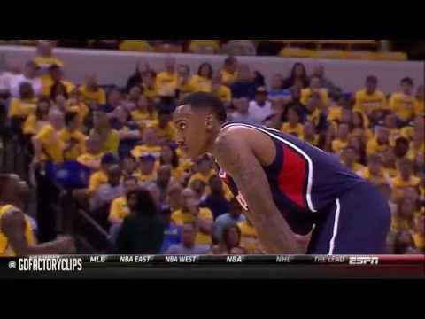 Jeff Teague Full Highlights at Pacers 2014 Playoffs East R1G1 - 28 Pts, SICK!