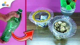 1 in 10 DIY Creative Way Great To Reuse Plastic Bottles | How to recycle plastic bottles | part 1