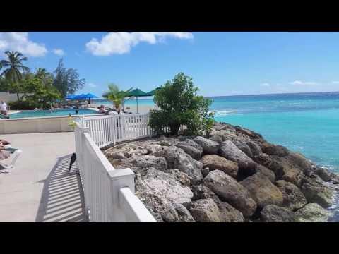 Barbados seaside at Rostrevor hotel,St. Lawrence gap