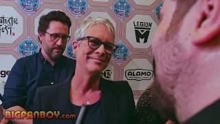 HALLOWEEN Interview with Jamie Lee Curtis, Danny McBride and Jeff Fradley - Fantastic Fest 2018