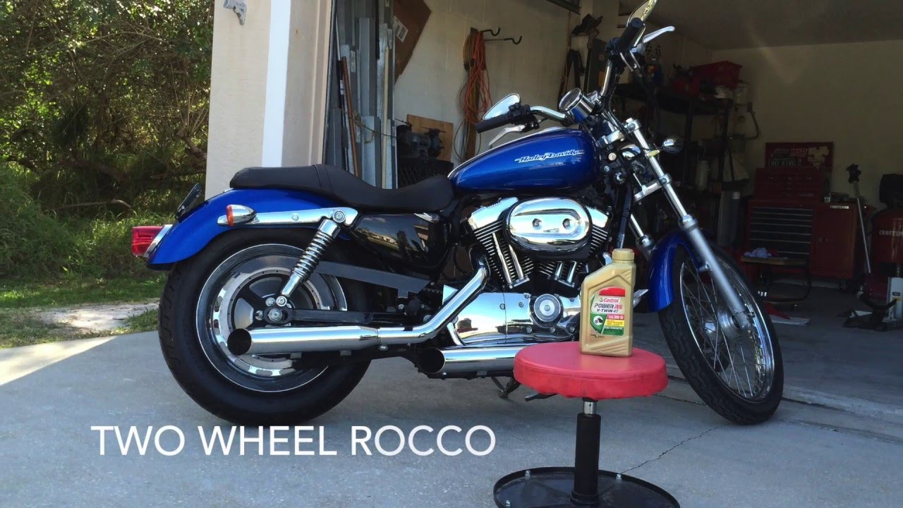 How To Harley Davidson Primary And Transmission Oil Change Youtube