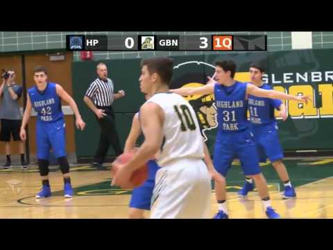 Glenbrook North High School vs. Highland Park High School Boys Varsity Basketball