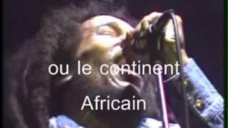 Bob Marley & the Wailers WAR Discours Hailé Sélassié I SOUS TITRES FR