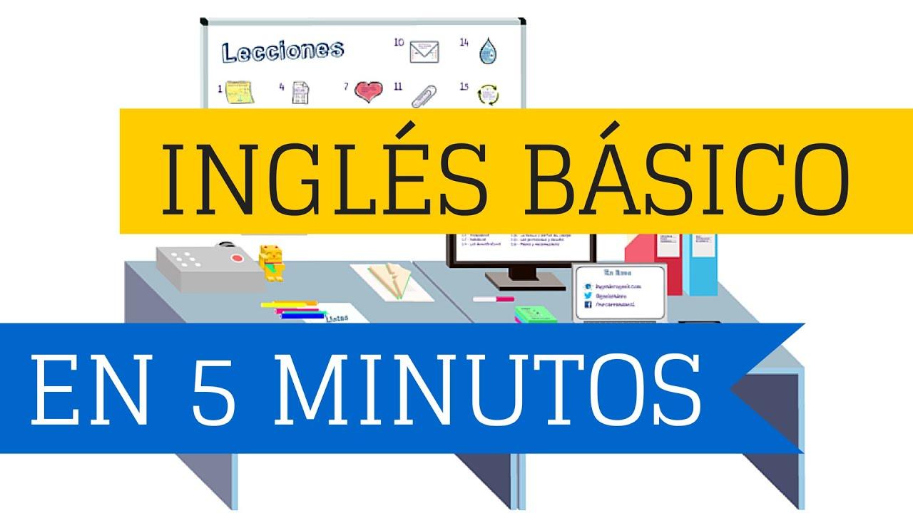 Curso de ingl s b sico completo en 5 minutos yes en for En resumen en ingles