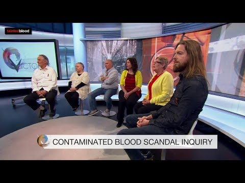Victoria Derbyshire : The Infected Blood Inquiry - 24th September 2018