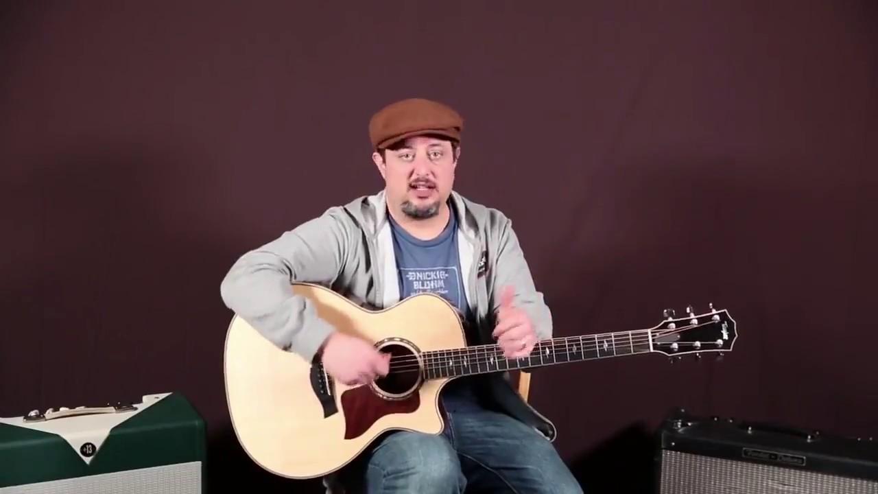 Super Easy 3 Chords Song Beginner Acoustic Guitar Lesson Youtube
