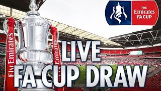 FA Cup 4th Round Draw Live