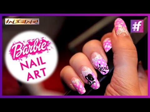 Barbie nail art diy tutorial cute nail art designs youtube barbie nail art diy tutorial cute nail art designs prinsesfo Images
