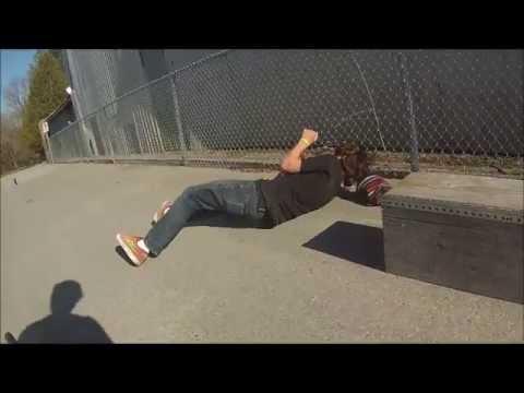 Funny Skateboarding Fail [Original Clip]