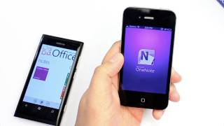 Microsoft OneNote & Youtube video ideas. Nokia Lumia 800 demo
