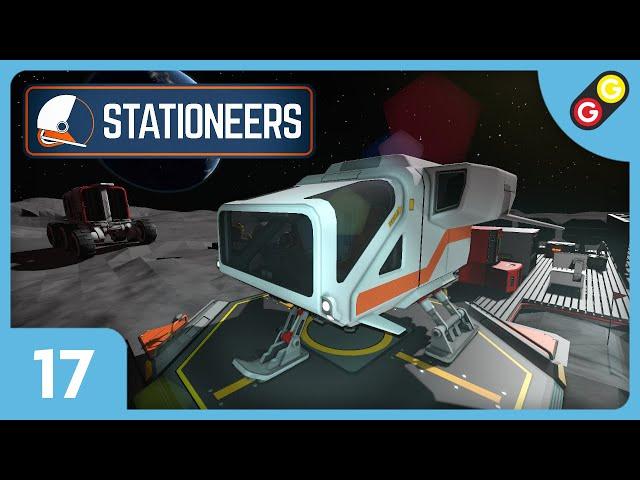 Stationeers #17 Gadu trader ! [FR]