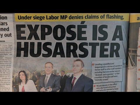 Carousel Riding Labor MP Emma Husar Flashes Colleague