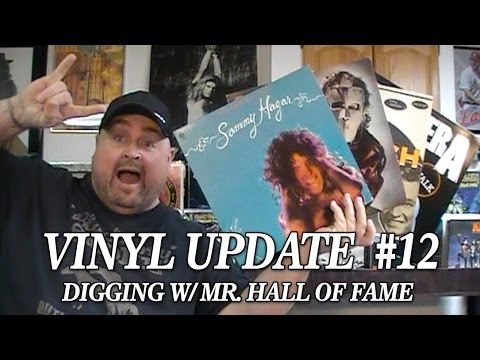 Vinyl Update #12 - Digging w/Mr. Hall of Fame