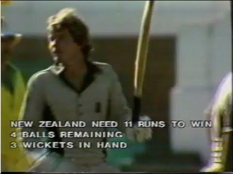 Trevor Chappell Underarm ball - FULL MATCH HIGHLIGHTS, 1981 WORLD SERIES CUP CRICKET
