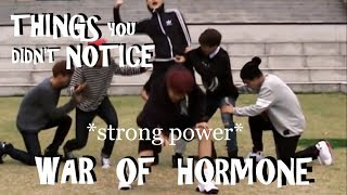 BTS THINGS YOU DIDN'T NOTICE IN WAR OF HORMONE DANCE PRACTICE