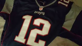 Dhgate NFL Tom Brady Jersey Review and Unboxing