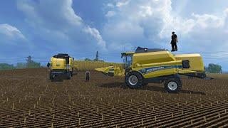Let's Play Farming Simulator 2015 #17 Gra z widzem, ciągniki i przyszłość