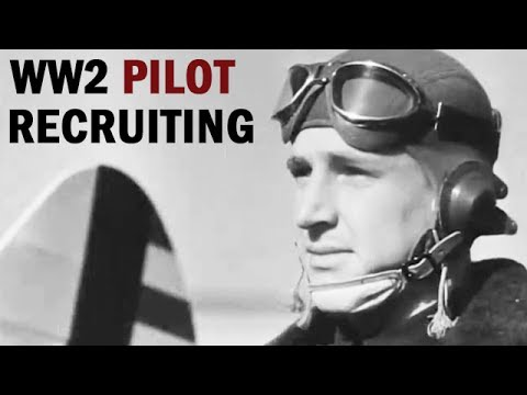 World War 2 US Army Air Forces Recruiting Film | Winning Your Wings | 1942