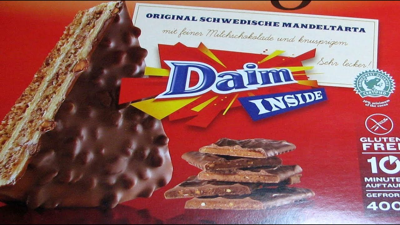 ikea daim taart Daim Almondy   Swedish Tårta   YouTube ikea daim taart
