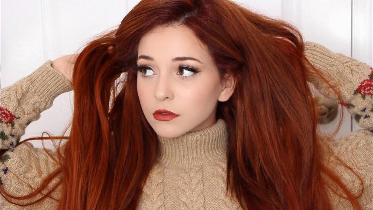 autumn orange ginger hair