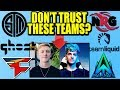 Tfue & Ninja DO NOT Trust These Teams... But Why? (THE TRUTH)